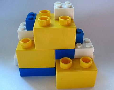 LEGO DUPLO Bricks Compatible with Regular LEGO