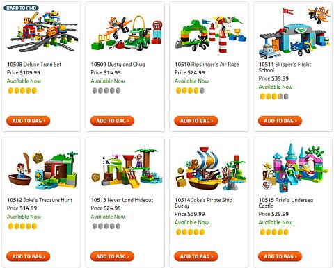 Shop for LEGO DUPLO