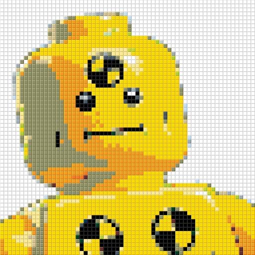 LEGO Dummy Mosaic 2