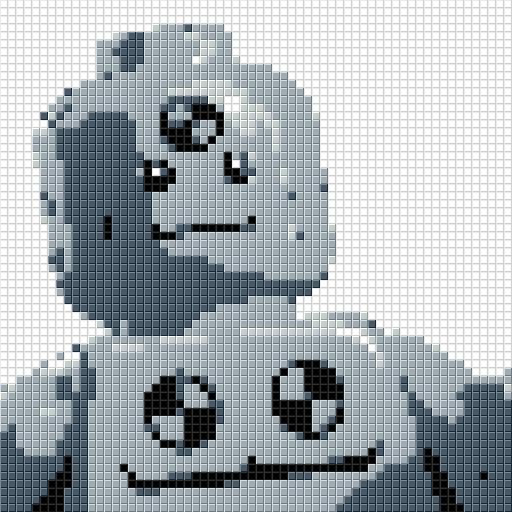 LEGO Dummy Mosaic 4