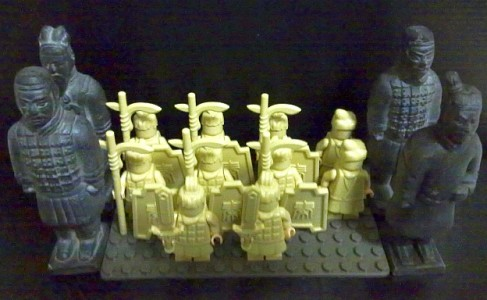 LEGO Terracotta Army by Henry