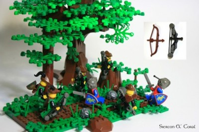 LEGO Compound Bow by Siercon and Coral