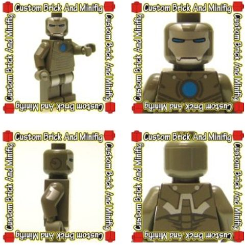 Custom LEGO Ironman 2 by Christo