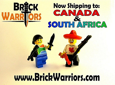 BrickWarriors Shipping