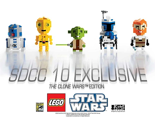 LEGO CubeDude Exclusives