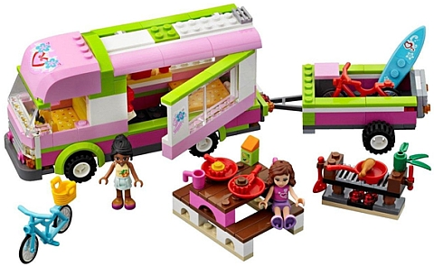 #3184 LEGO Friends Camper Details