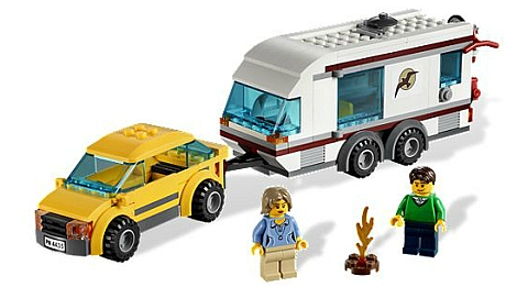#4435 LEGO City Car & Caravan