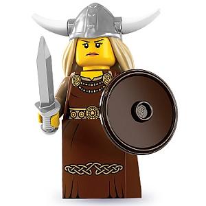 Tenue viking femme LEGO-Minifigures-Series-7-Viking-Woman
