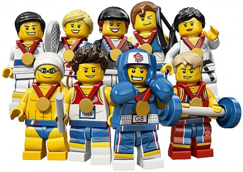 Olympic LEGO Minifigures