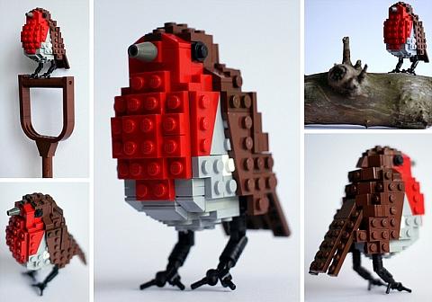CUUSOO LEGO Bird - Bobby Robin