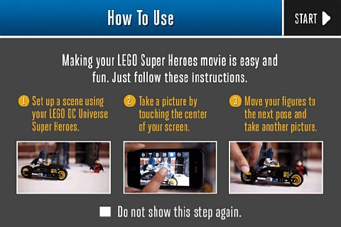 LEGO App - Super Heroes Movie Maker