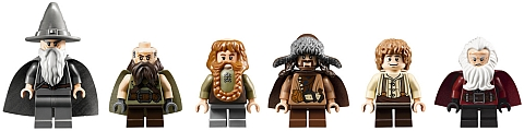 LEGO Comic-Con The Hobbit Minifigures