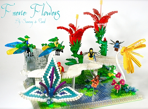 LEGO Fairy Forest Flowers by Siercon & Coral