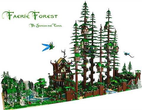 LEGO Fairy Forest by Siercon & Coral