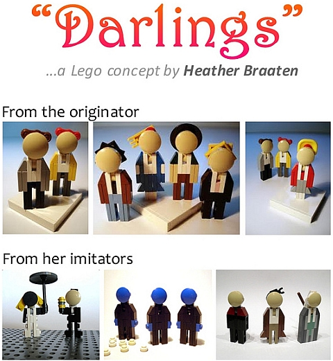 LEGO Minifigures Darlings by Heather Braaten