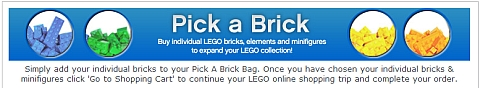 LEGO Model Building Resource - Pick-A-Brick