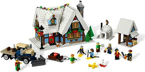 #10229 LEGO Winter Village Cottage Details