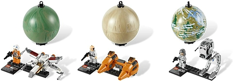 LEGO Star Wars Planets Series Two Details