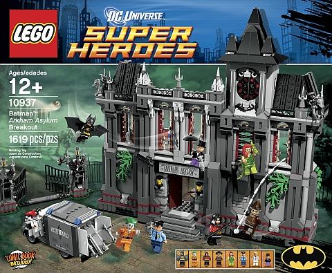 #10937 LEGO Super Heroes Arkham Asylum