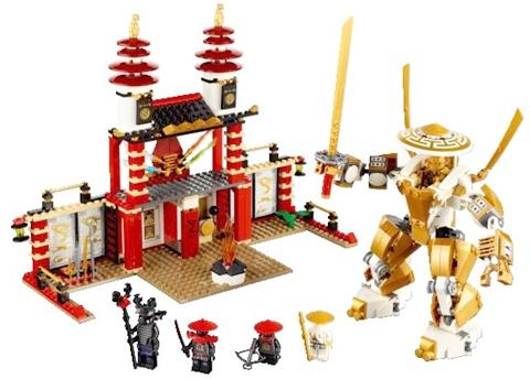 #70503 LEGO Ninjago Temple of Light Details