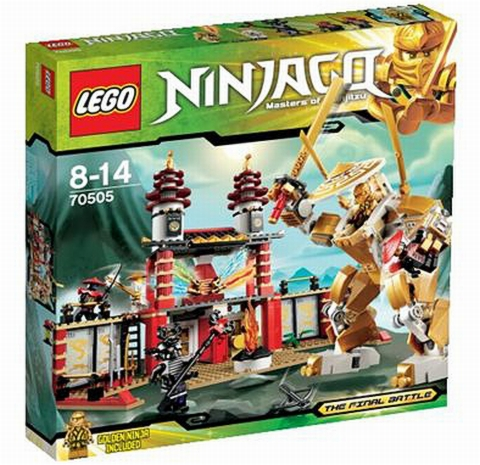#70505 LEGO Ninjago Temple of Light