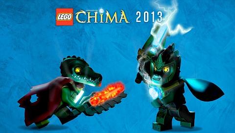 LEGO Legends of Chima HC 2-1ST NM 2014 Stock Image