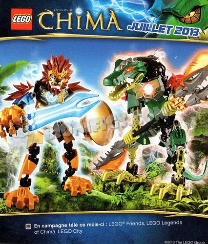 Large Chima Figures