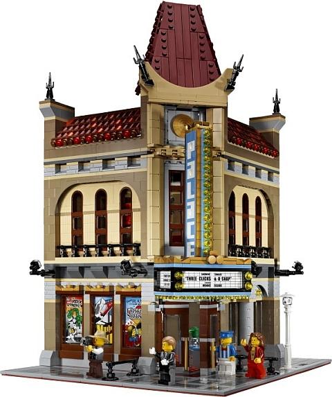#10232 LEGO Modular Palace Cinema Front