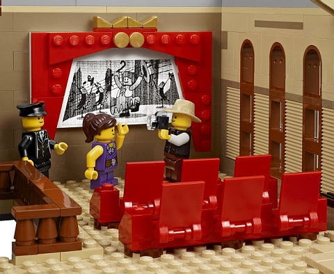 #10232 LEGO Palace Cinema Theatre