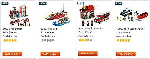 2013 LEGO City Sets