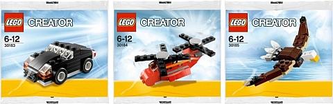 2013 LEGO Creator Polybags
