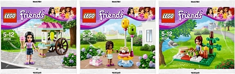 2013 LEGO Friends Polybags