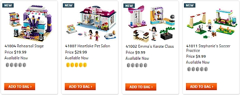 2013 LEGO Friends Sets