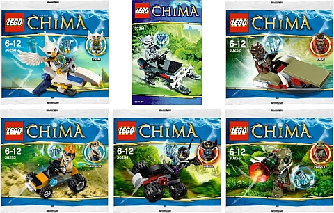 2013 LEGO Legends of Chima Polybags