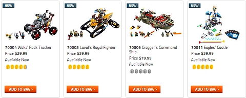 2013 LEGO Legends of Chima Sets