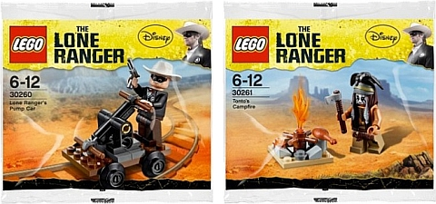 2013 LEGO Lone Ranger Polybags