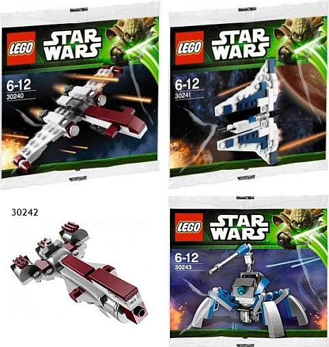 2013 LEGO Star Wars Polybags