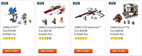 2013 LEGO Star Wars Sets