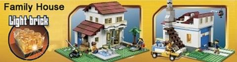 #31012 LEGO Creator Family House Alternate Models