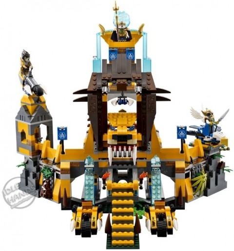 #70010 LEGO Legends of Chima Lion CHI Temple