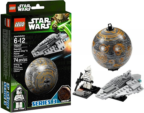 #75007 LEGO Star Wars Planets Series 3 Coruscant