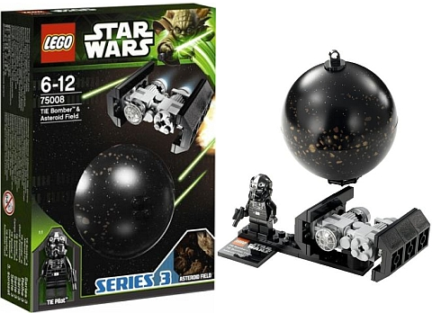 #75008 LEGO Star Wars Planets Series 3 Asteroid Field