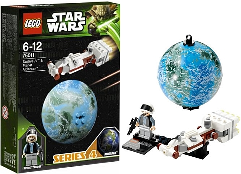 #75011 LEGO Star Wars Planets Series 4 Alderaan