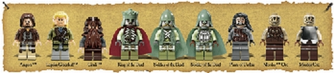 #79008 LEGO Lord of the Rings Minifigs