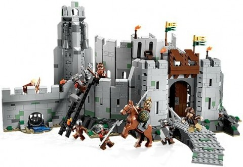 #9474 LEGO Lord of the Rings Battle of Helms Deep