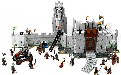 #9474 LEGO Lord of the Rings Battle of Helms Deep Details