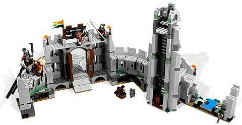 #9474 LEGO Lord of the Rings Battle of Helms Deep Inside
