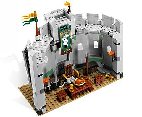 #9474 LEGO Lord of the Rings Battle of Helms Deep Keep