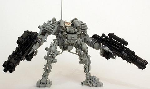 CUUSOO LEGO Exo-Suit by Peter Reid Details