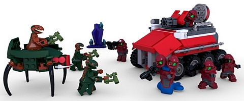CUUSOO LEGO Space Troopers by Nick Royer Details
